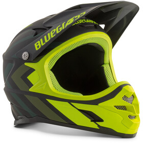bluegrass Intox Casco, black shaded/fluo yellow